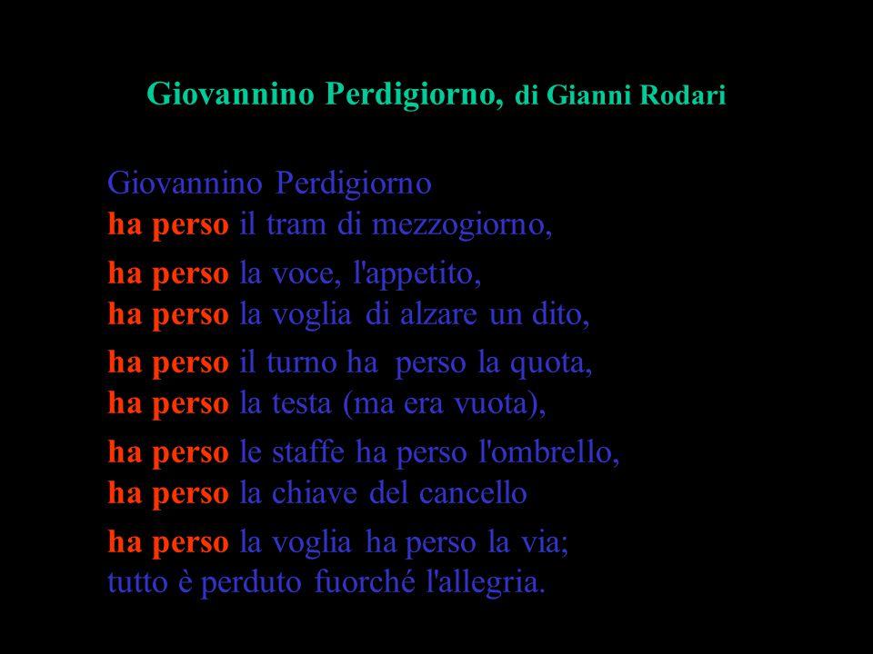 Giovannino Perdigiorno, di Gianni Rodari