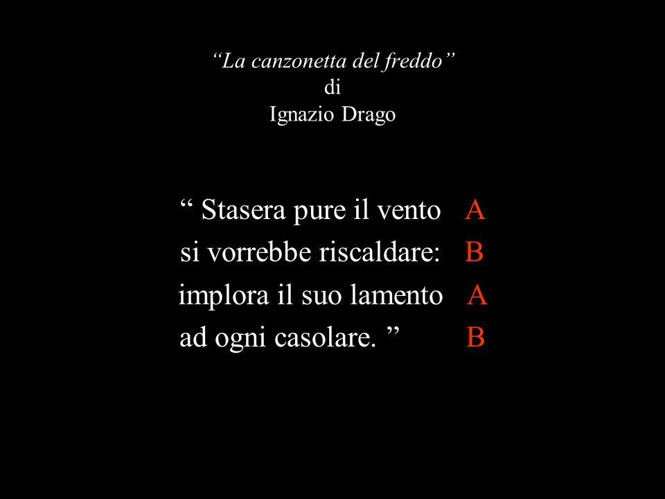 La canzonetta del freddo di Ignazio Drago