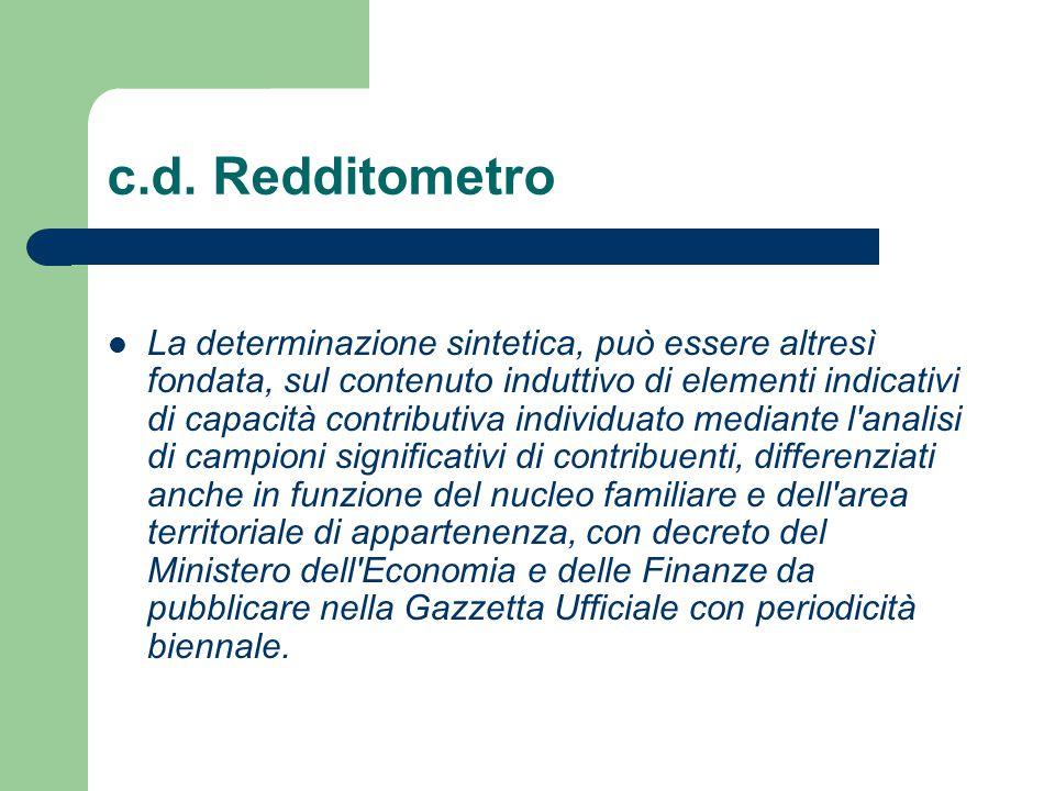 c.d. Redditometro