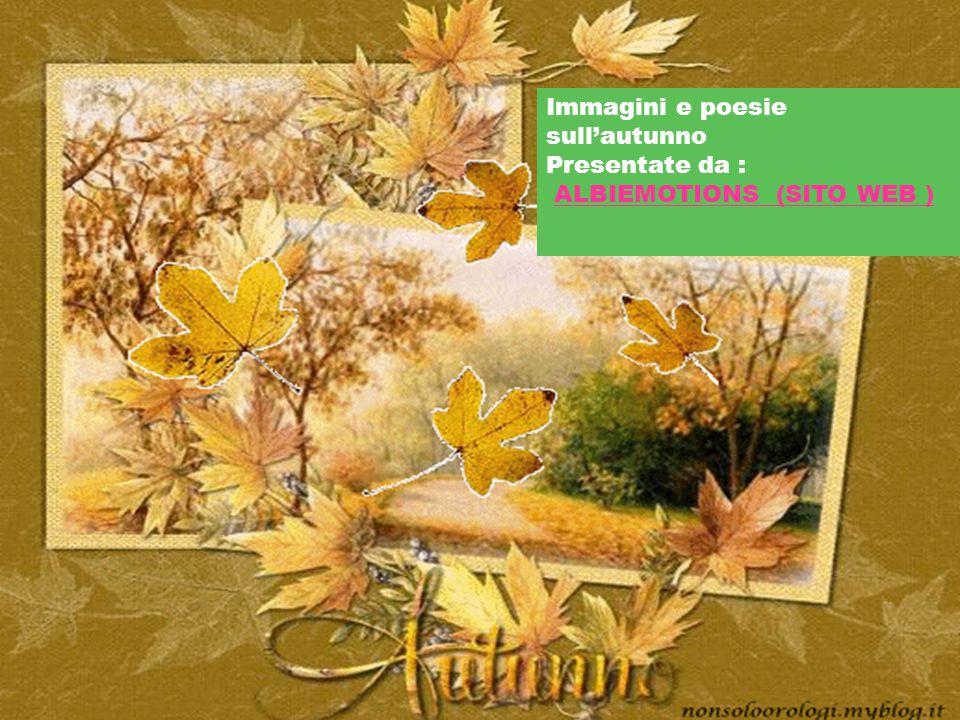 Immagini e poesie sull'autunno