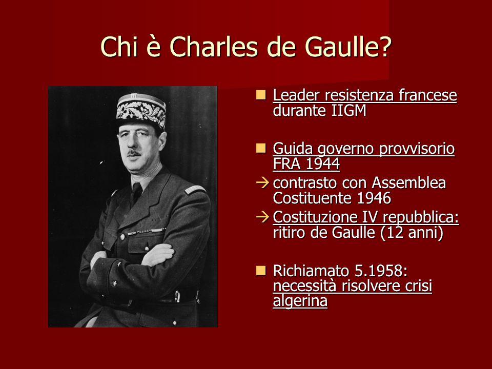 Chi è Charles de Gaulle Leader resistenza francese durante IIGM
