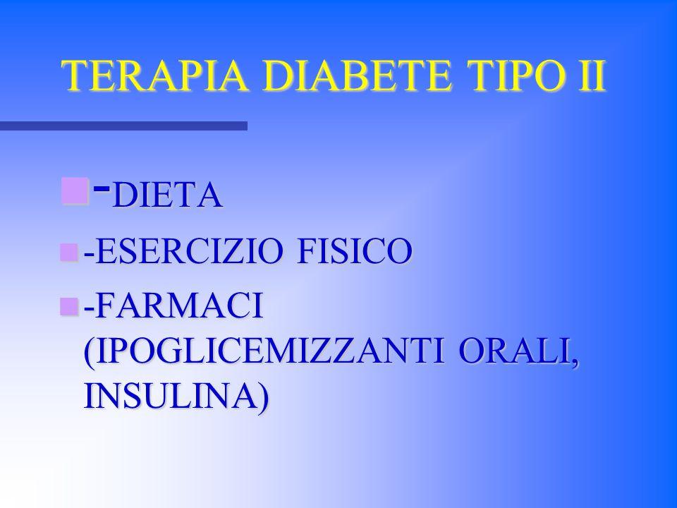 TERAPIA DIABETE TIPO II