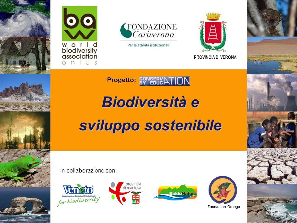 Biodiversità e sviluppo sostenibile