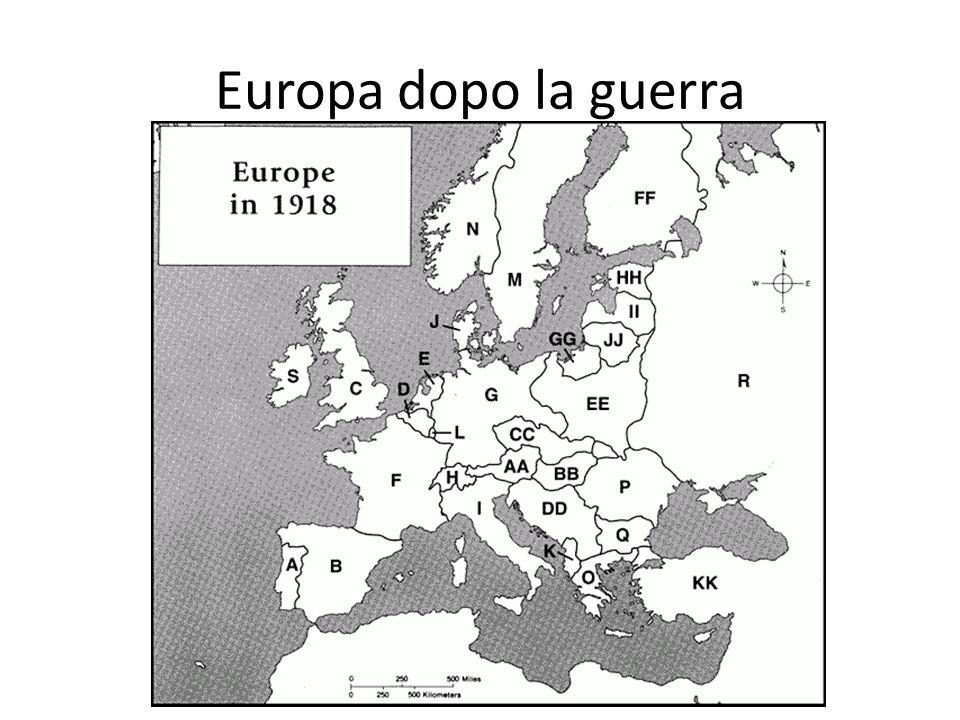 Europa dopo la guerra