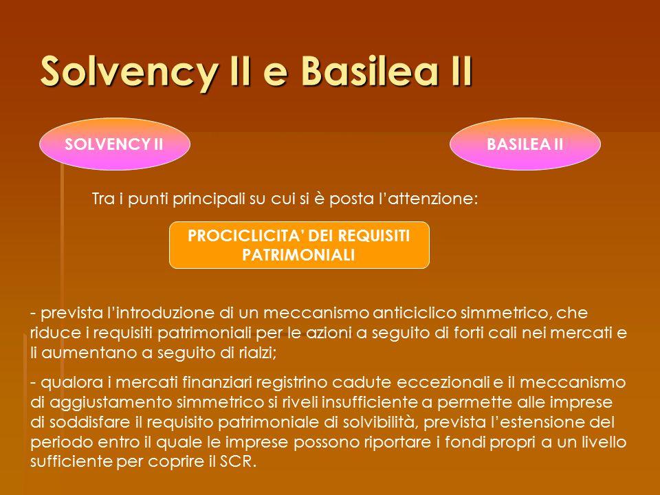 Solvency II e Basilea II