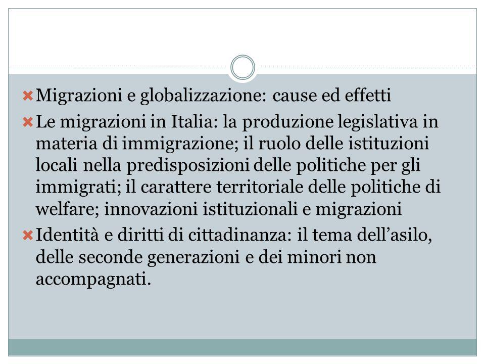 Migrazioni e globalizzazione: cause ed effetti