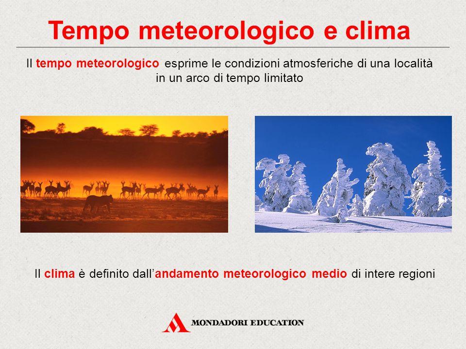 Tempo meteorologico e clima