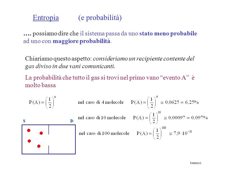 Entropia (e probabilità)