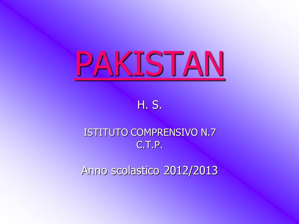 H. S. ISTITUTO COMPRENSIVO N.7 C.T.P. Anno scolastico 2012/2013