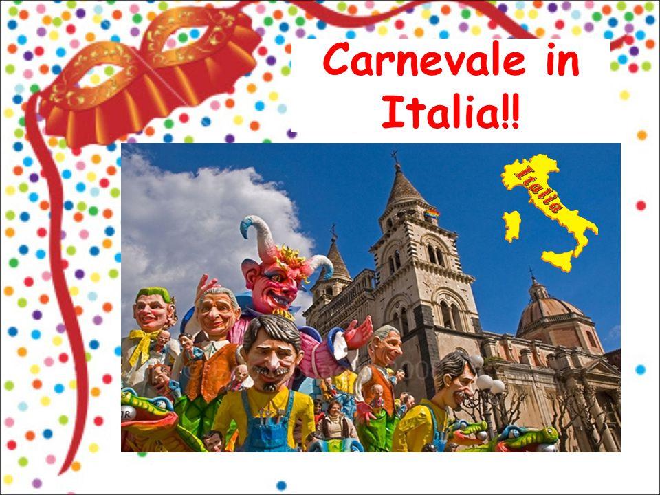 Carnevale in Italia!! 1