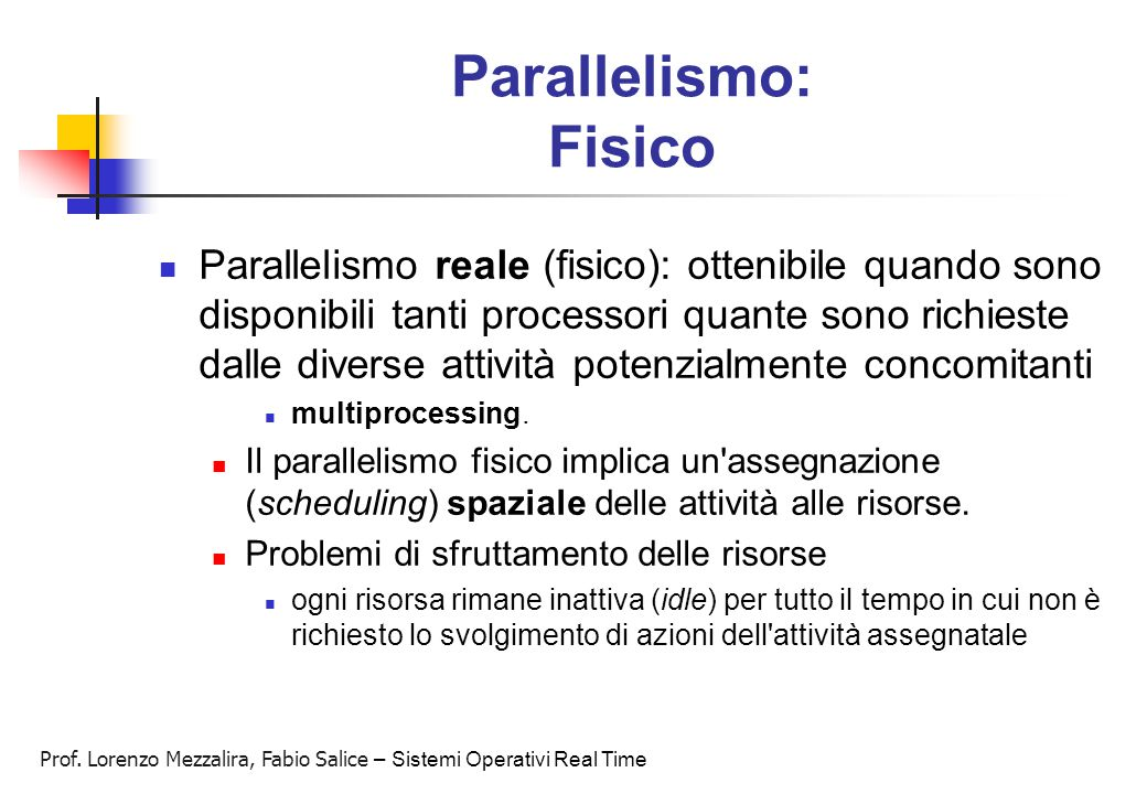Parallelismo: Fisico