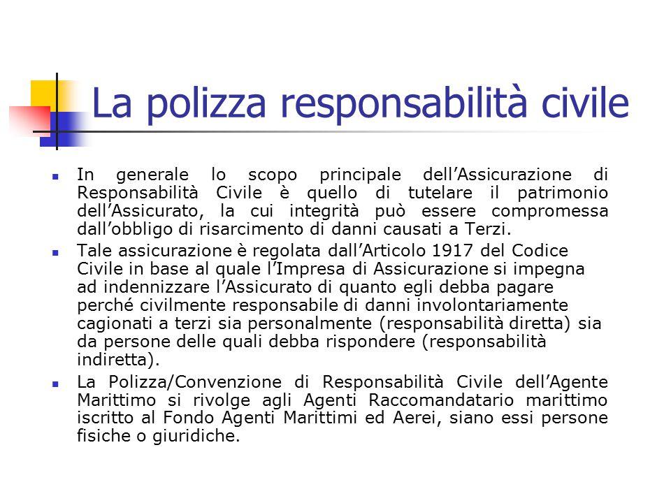 La polizza responsabilità civile