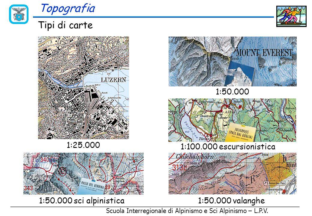 Topografia Come si realizzano oggi le carte topografiche