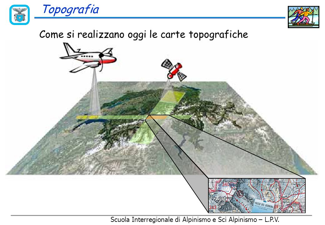 Topografia Come si realizzavano un tempo le carte topografiche