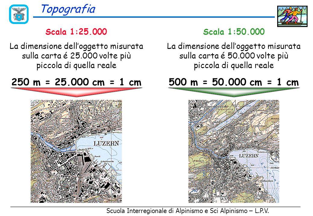Topografia E' impossibile rappresentare una superficie curva, come la terra, su di un piano senza deformarla!