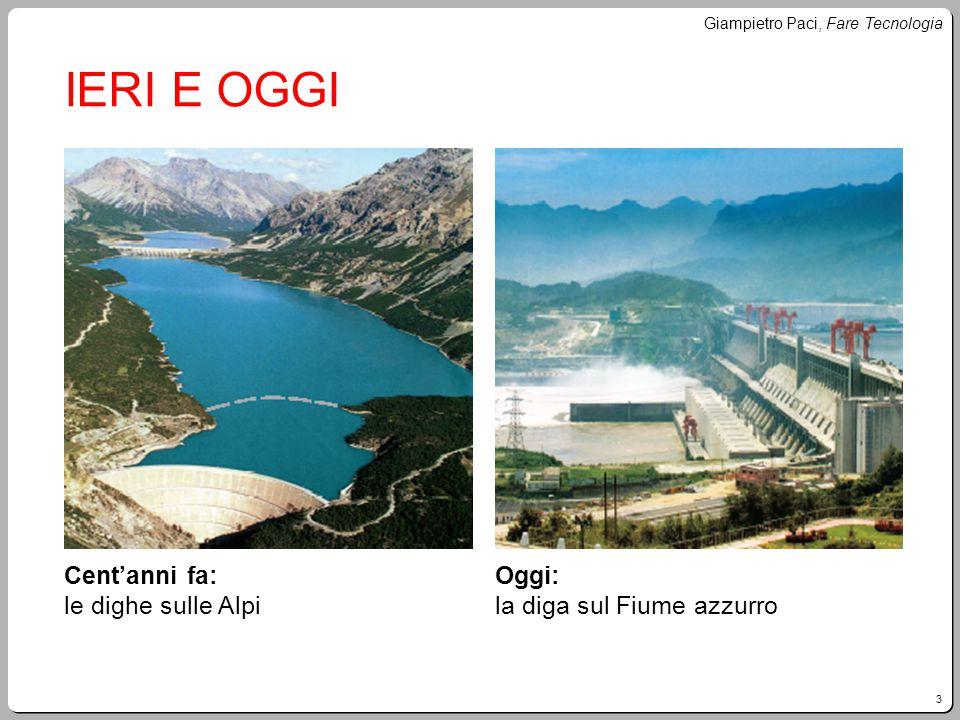 IERI E OGGI Cent'anni fa: le dighe sulle Alpi