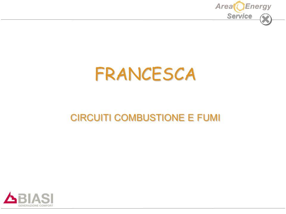FRANCESCA CIRCUITI COMBUSTIONE E FUMI