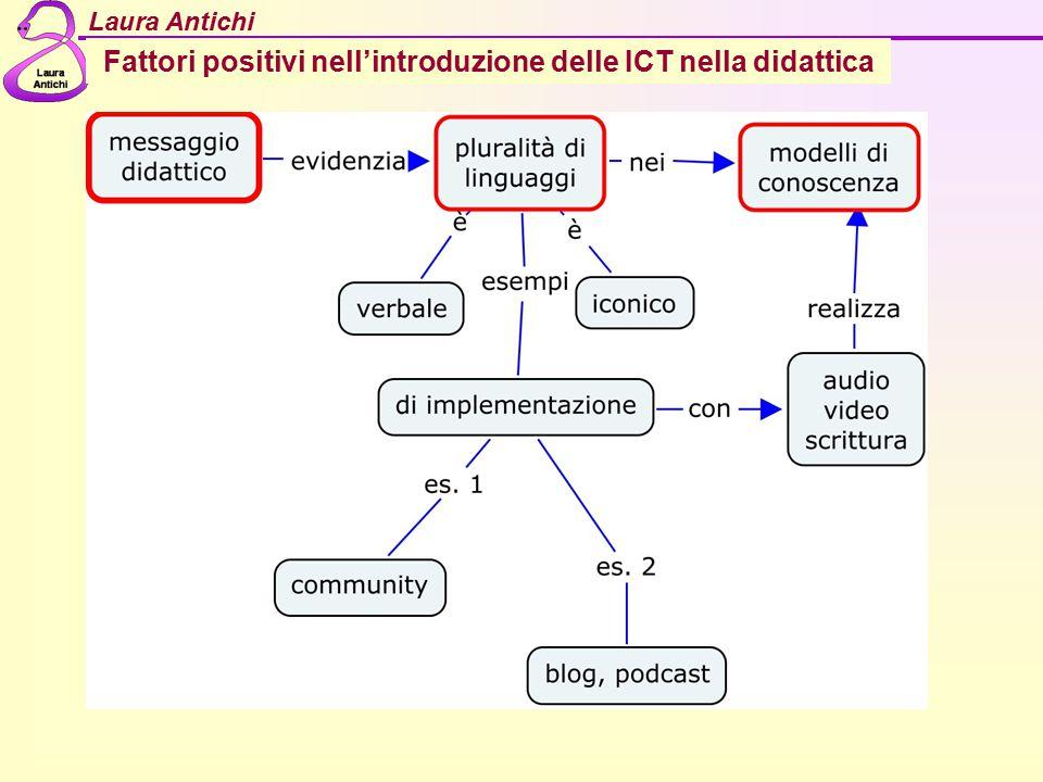 Fattori positivi nell'introduzione delle ICT nella didattica