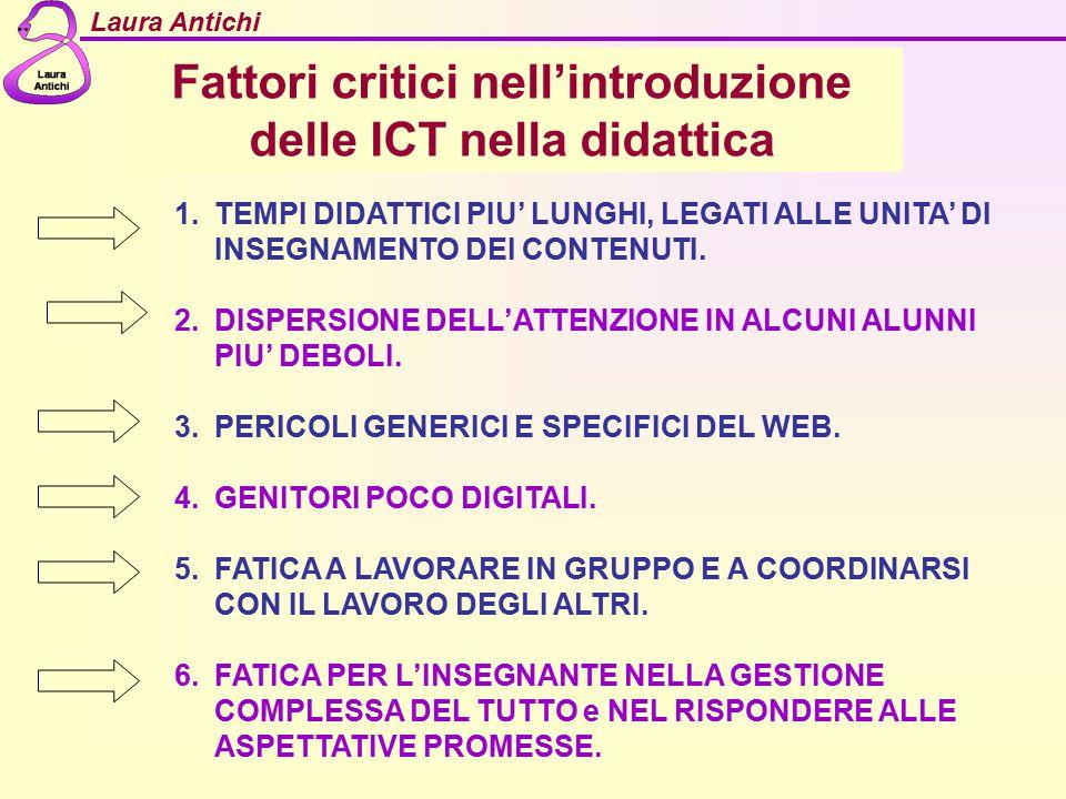 Fattori critici nell'introduzione delle ICT nella didattica