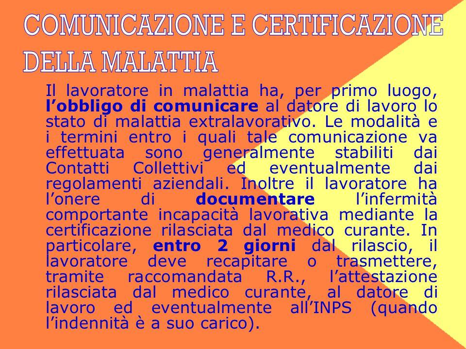 COMUNICAZIONE E CERTIFICAZIONE
