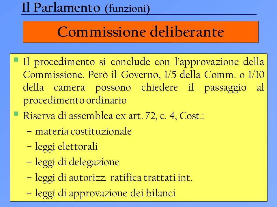 Commissione deliberante