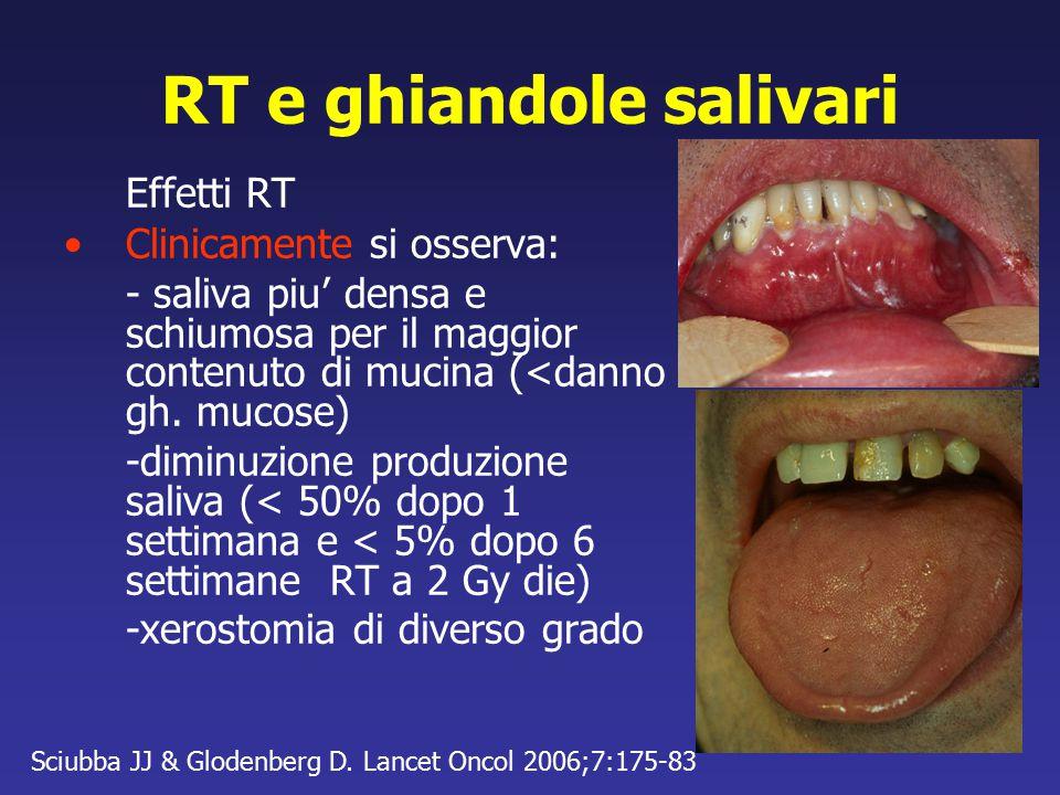 RT e ghiandole salivari