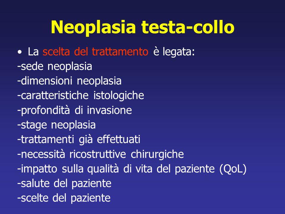 Neoplasia testa-collo
