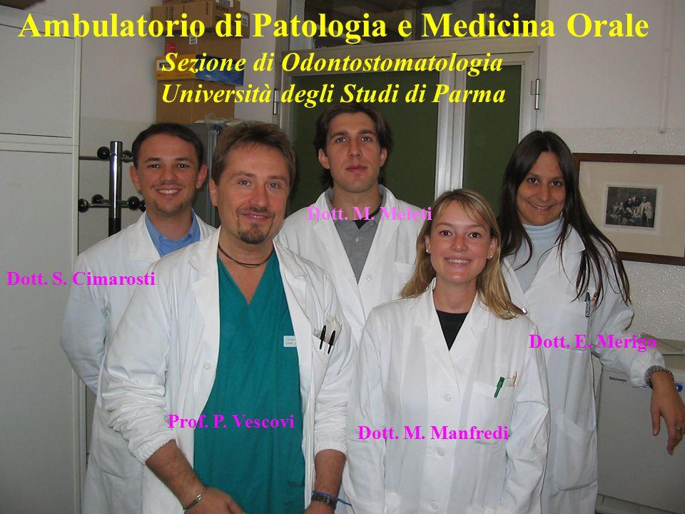 Ambulatorio di Patologia e Medicina Orale