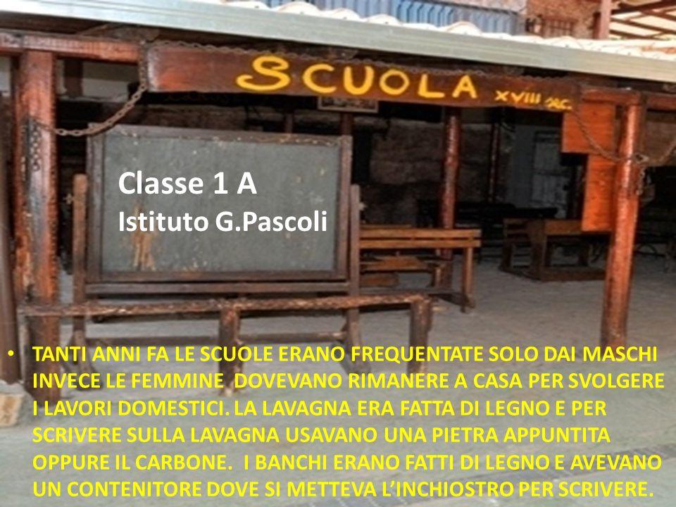 Classe 1 A Istituto G.Pascoli