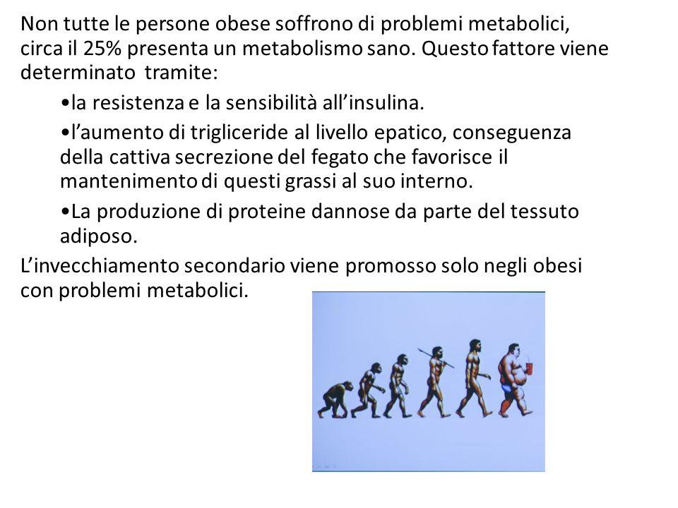 la resistenza e la sensibilità all'insulina.