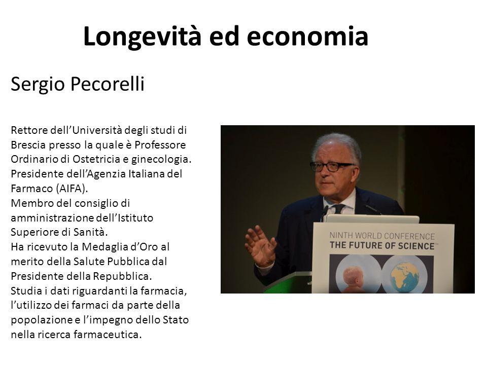 Longevità ed economia Sergio Pecorelli