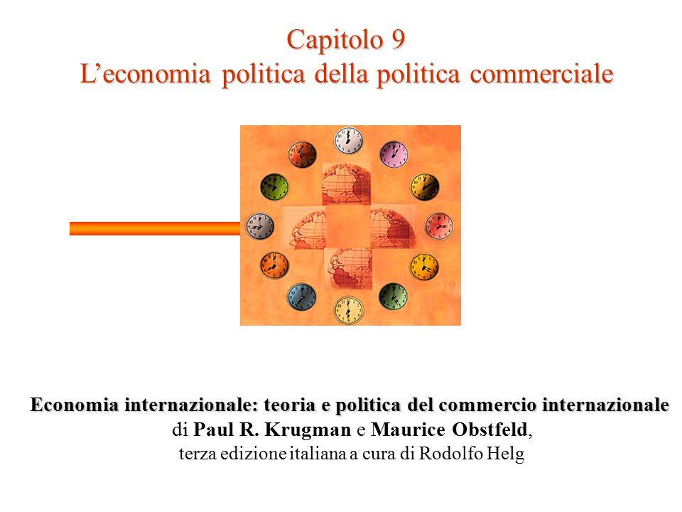 L'economia politica della politica commerciale