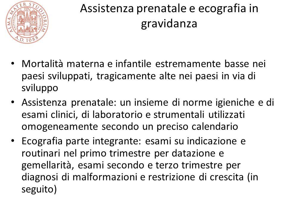 Assistenza prenatale e ecografia in gravidanza