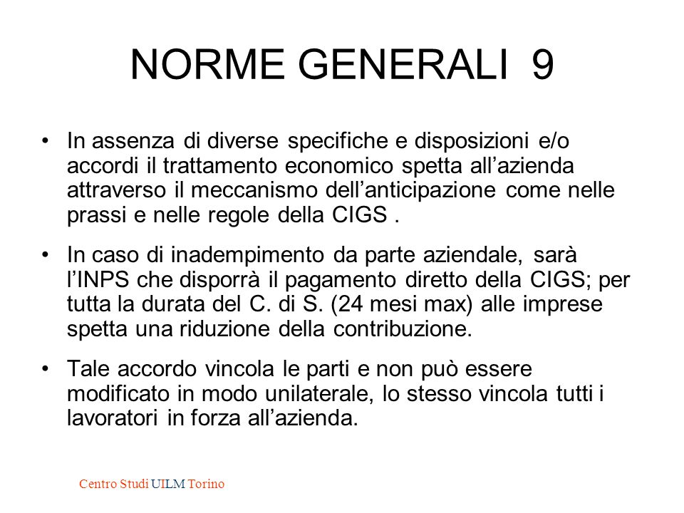 NORME GENERALI 9
