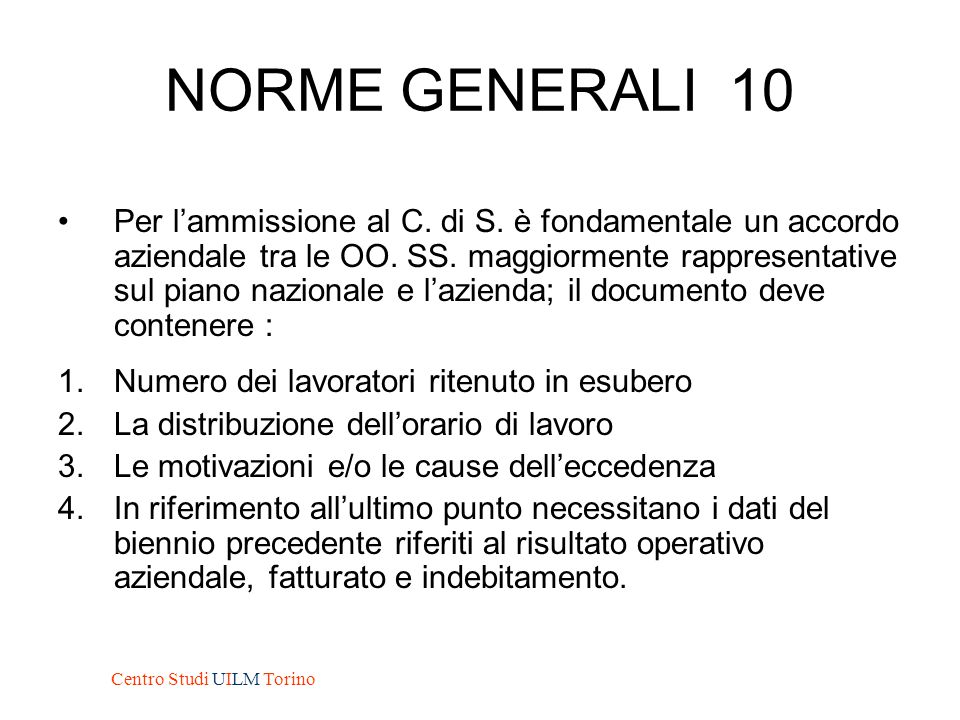 NORME GENERALI 10