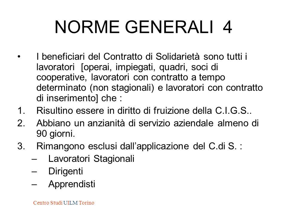 NORME GENERALI 4