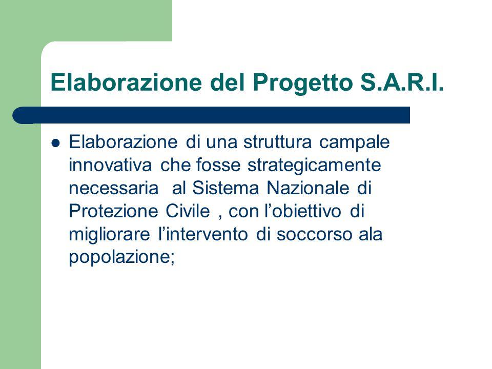 Elaborazione del Progetto S.A.R.I.