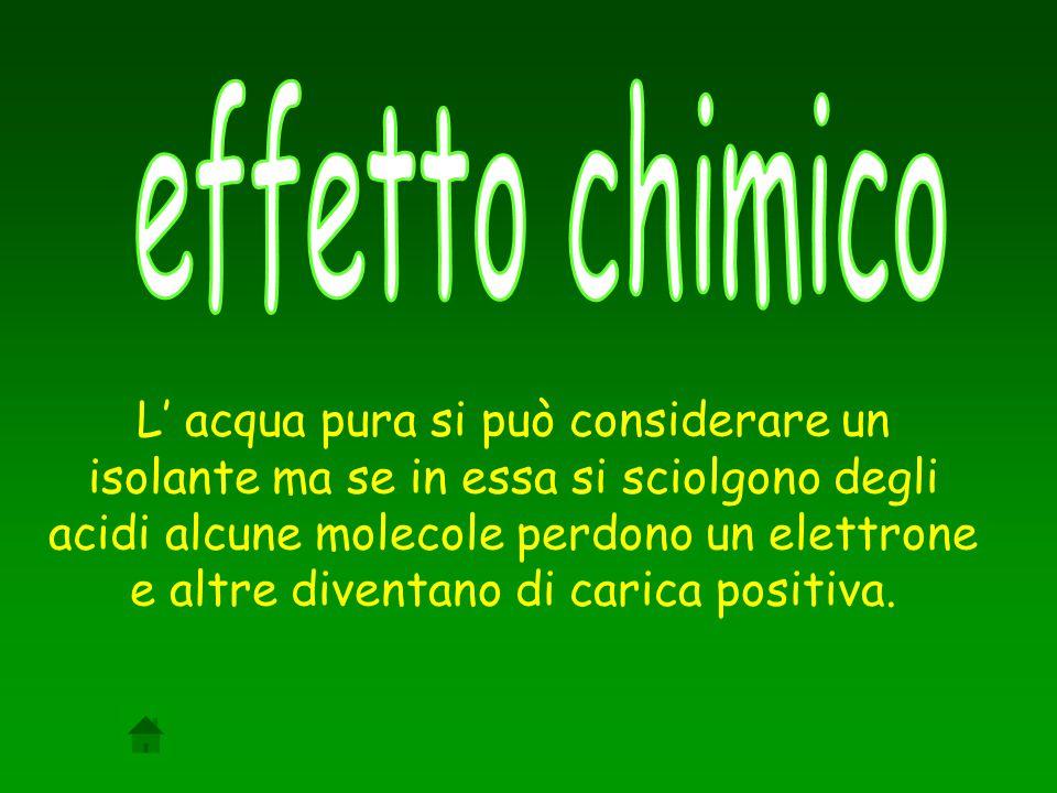 effetto chimico