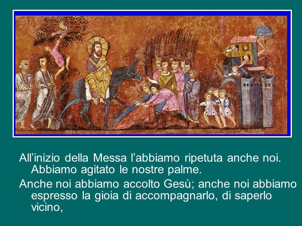 All'inizio della Messa l'abbiamo ripetuta anche noi