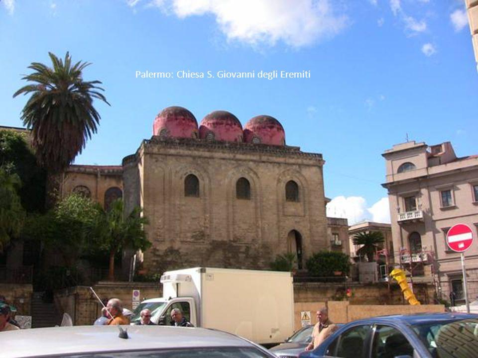 Palermo: Chiesa S. Giovanni degli Eremiti