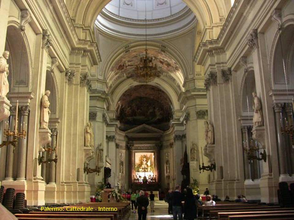 Palermo: Cattedrale - Interno
