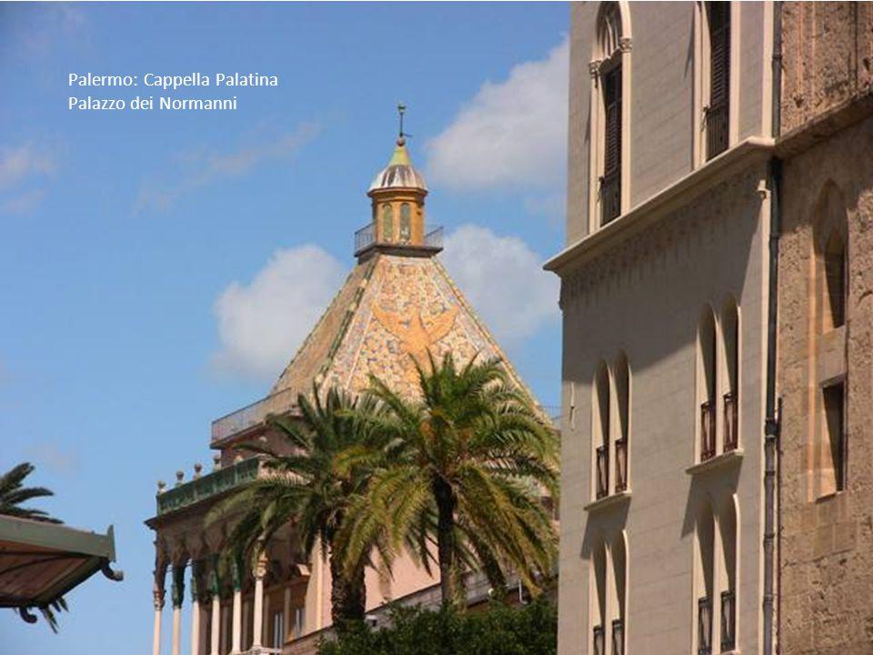Palermo: Cappella Palatina