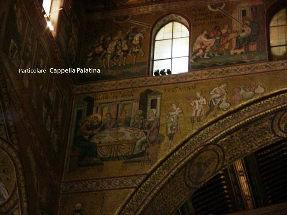 Particolare Cappella Palatina