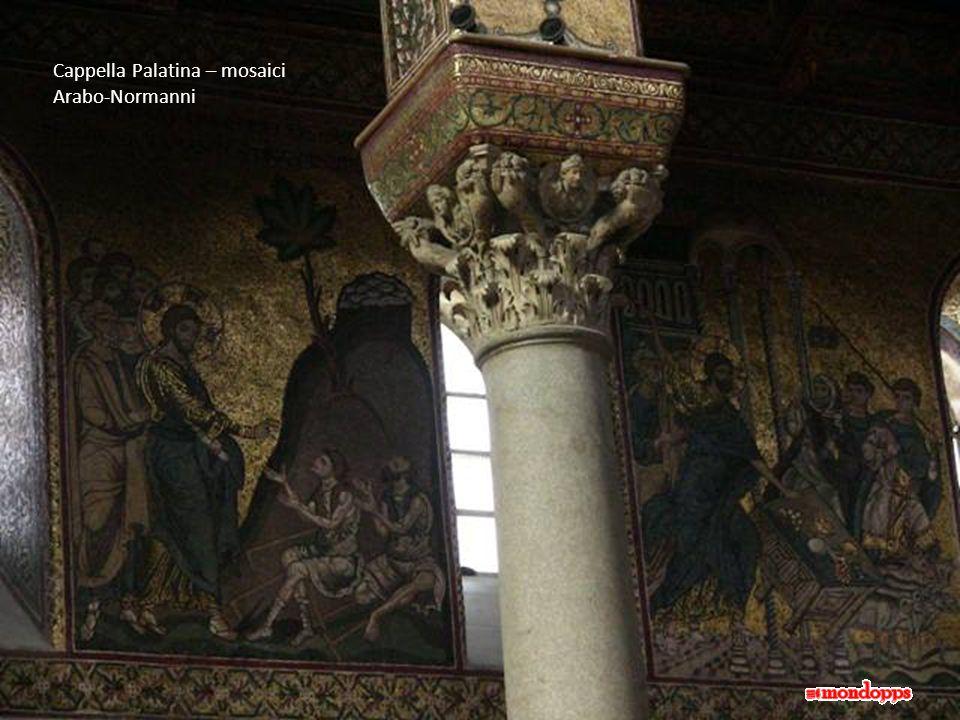 Cappella Palatina – mosaici Arabo-Normanni