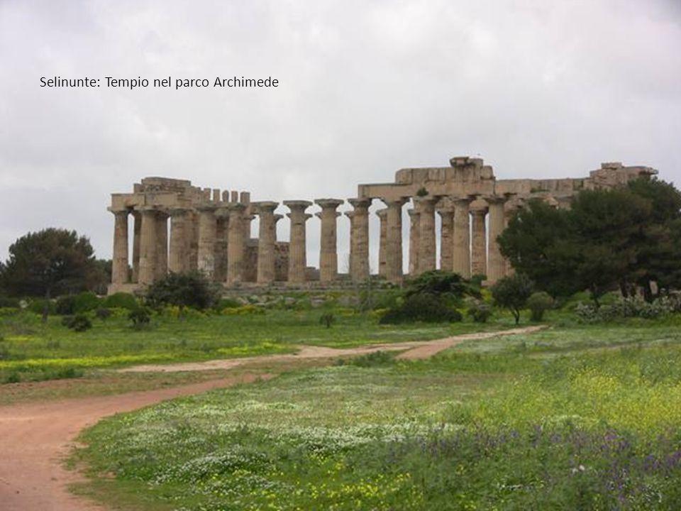 Selinunte: Tempio nel parco Archimede
