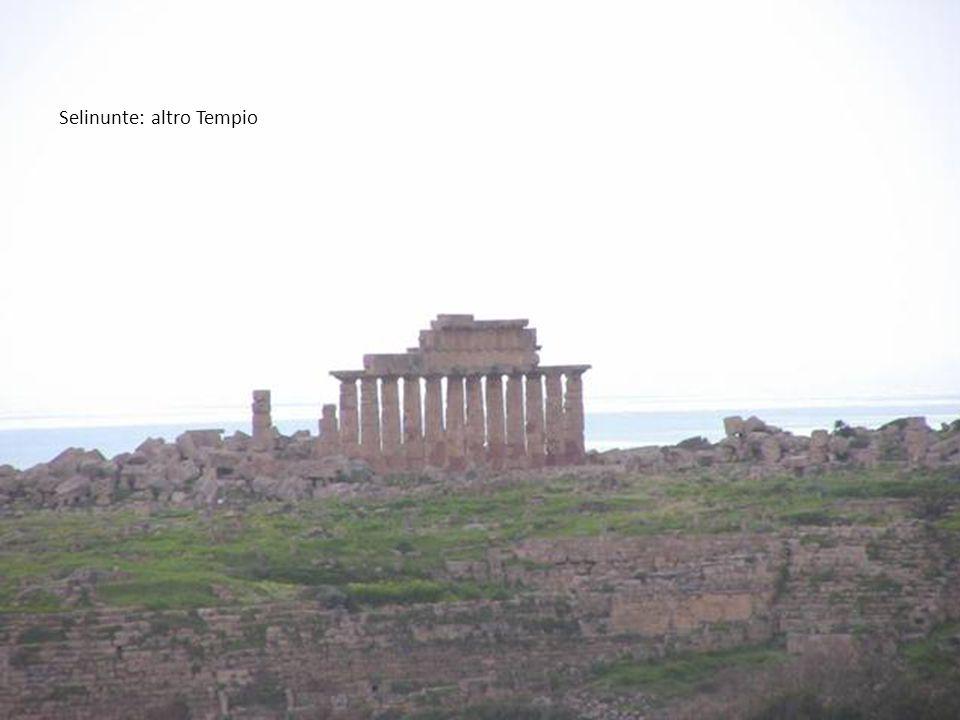 Selinunte: altro Tempio