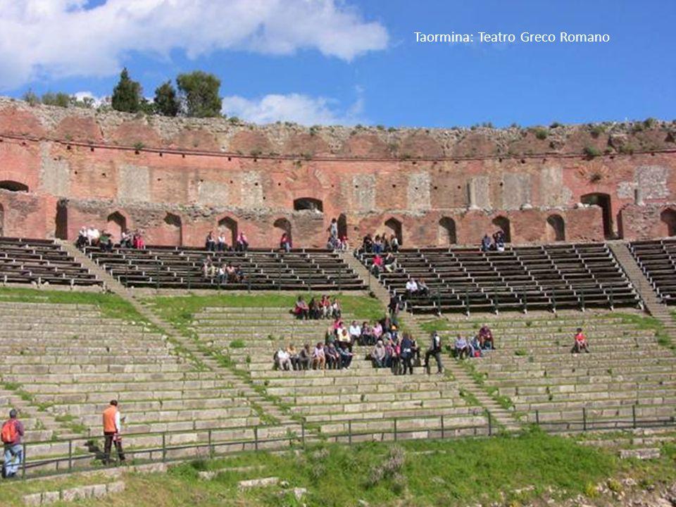 Taormina: Teatro Greco Romano