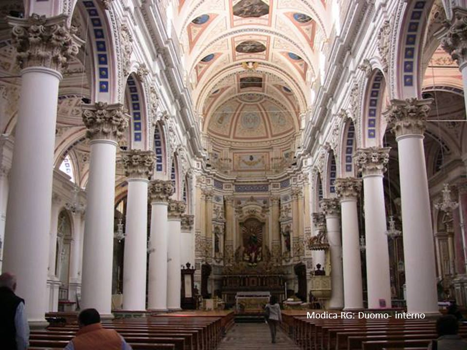 Modica-RG: Duomo- interno