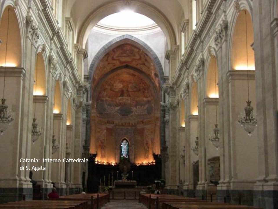 Catania: Interno Cattedrale di S. Agata