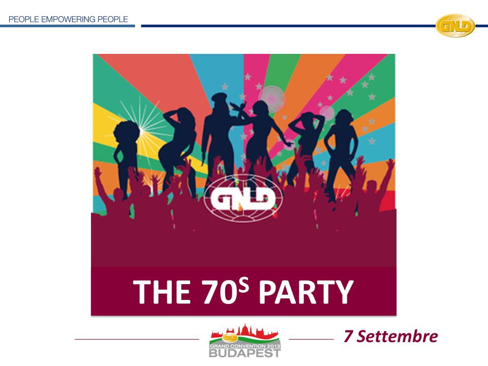 THE 70S PARTY 7 Settembre